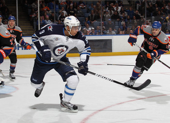 Evander Kane of the Winnipeg Jets.