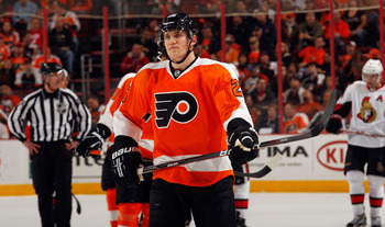 Matt Carle spent the last few seasons in Philadelphia. He will be visiting the City of Brotherly Love in a hostile uniform.
