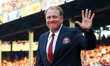Curt Schilling has pitched in the World Series for three different teams.