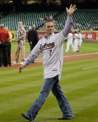 Biggio played his entire career with the Houston Astros.