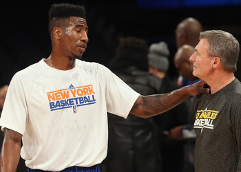 Iman Shumpert is almost set to return from an ACL tear.