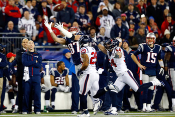 This was the last play of Rob Gronkowski's season.