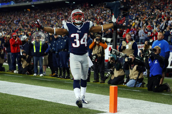 Shane Vereen made his name known against Houston.