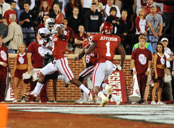 The Sooners must find a replacement for Tony Jefferson.