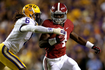With Eddie Lacy forgoing his senior season, T.J. Yeldon will take over as Alabama's feature back.