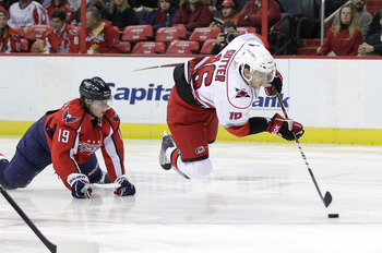 The Caps will host the Carolina Hurricanes three times this season.