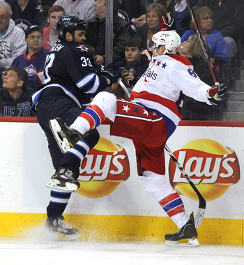 The Caps will square off against the Jets in Winnipeg on two consecutive nights in March.