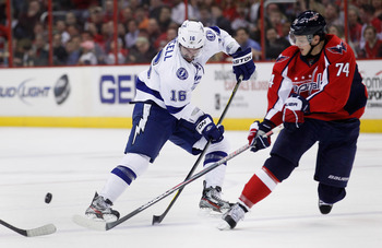 The Washington Capitals open the 2013 season against the Tampa Bay Lightning.