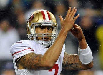 Colin Kaepernick did this a lot against Seattle on the road.