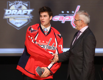 Tom Wilson at the 2012 NHL draft