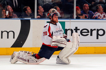Braden Holtby will be the first of two great goaltending options for the Caps.