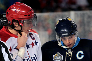 Ovechkin vs. Crosby is one of the NHL's best rivalries.