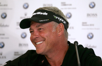 Darren Clarke wants to keep playing while his game is up to it.