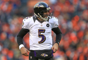 Joe Flacco will look to prove himself against the Patriots.