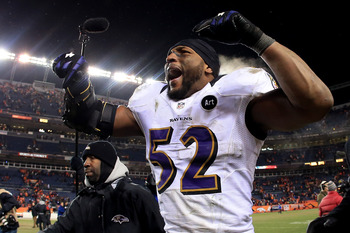 This won't be Ray Lewis' last game if he continues to play the way he has this postseason.