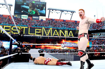 Will Sheamus or Daniel Bryan be in the WHC match at WrestleMania 29? (photo credit: wwe.com)