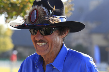 Richard Petty, The King of badasses.