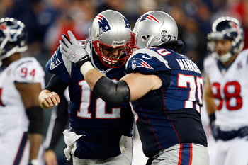 Logan Mankins made the AP's second-team All-Pro look very valid on Sunday.
