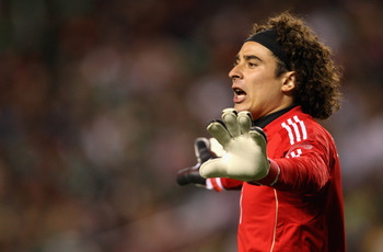 Ochoa was in fine form against PSG.