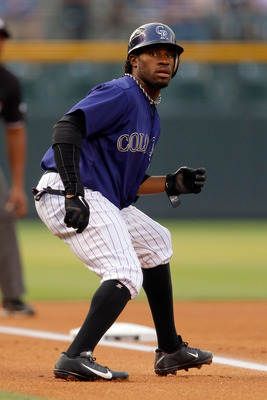 Eric Young had somewhat of a breakout season in 2012 for the Rockies.
