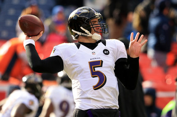 Joe Flacco is under the microscope in the AFC Championship as he nears contract talks with the Ravens.