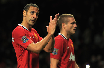 Rio Ferdinand and Nemanja Vidic: Defensive concerns
