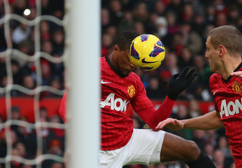 Patrice Evra scores against Liverpool