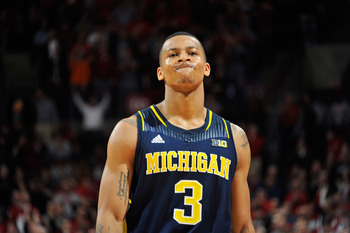 Trey Burke struggled to knock down jump shots against the Buckeyes.
