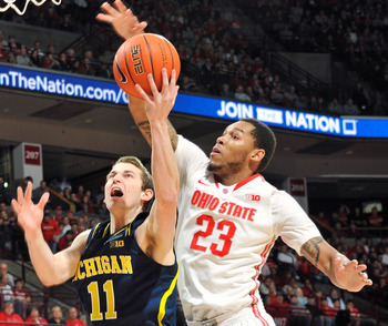 Ohio State's defense only allowed Nik Stauskas to fire up three shots on Sunday.