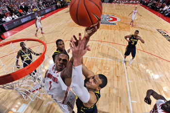 Jordan Morgan struggled against Ohio State's athletic big men.