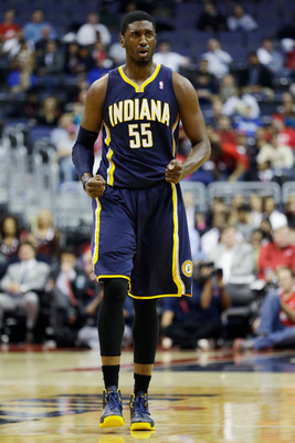 Hibbert is performing far below his max contract.