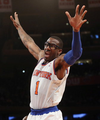 No star has fallen farther than Amar'e.
