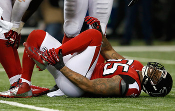 The 49ers do not condone disrespect for injuries, but Abraham's injured ankle bodes well for Sunday.