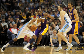 Kobe Bryant has not been a steller defender this year.  He's promised to pick up his game, which should inspire his teammates.