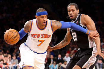Carmelo Anthony is scoring at will this season; he's averaging 29.3 points per game.