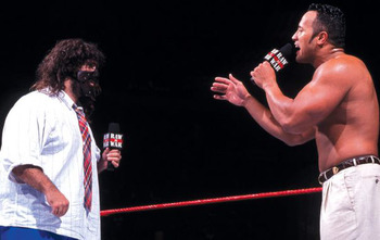 Rock N Sock in the old days. via WWE.com