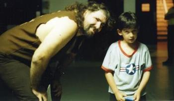 Me and Mick Foley around 1997