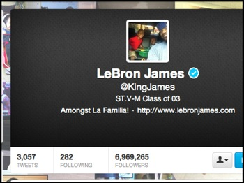 Image via @KingJames