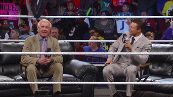 Why didn't Ric Flair confront CM Punk? (photo credit: wwe.com)