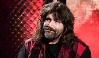 Mick Foley (photo credit: WWE)