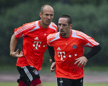 Would Bayern be in the market for a replacement for Robben and/or Ribery?