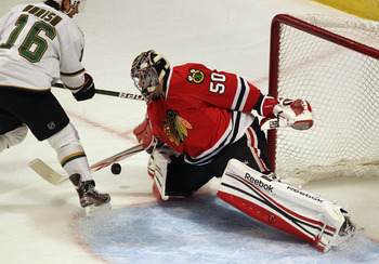 A big year is expected out of Corey Crawford. Can he live up to the expectations of being a No. 1 goalie.