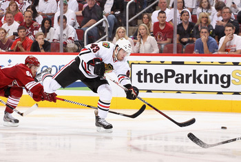 Brandon Saad will be one of many young 'Hawks' who will be expected to make a contribution in the lineup.