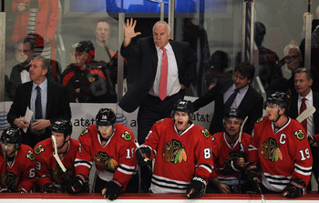 Quenneville had hand picked his assistants, change needs to happen and fast.