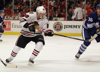 Patrick Kane is one of the many players on the 'Hawks who need to be a lot better.