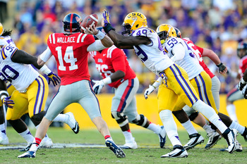 LSU DE Barkevious Mingo vs. Ole Miss