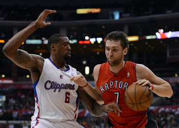 Bargnani has struggled to stay on the floor and is not much of a team player