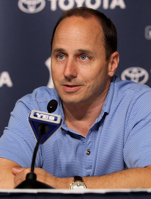 Yankees GM Brian Cashman.