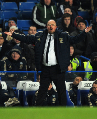 Rafa Benitez knows Everton are breathing down his neck for one of the CL qualification spots