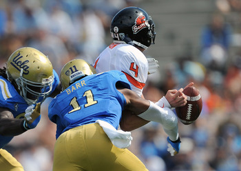 Anthony Barr will return to UCLA for his senior season.